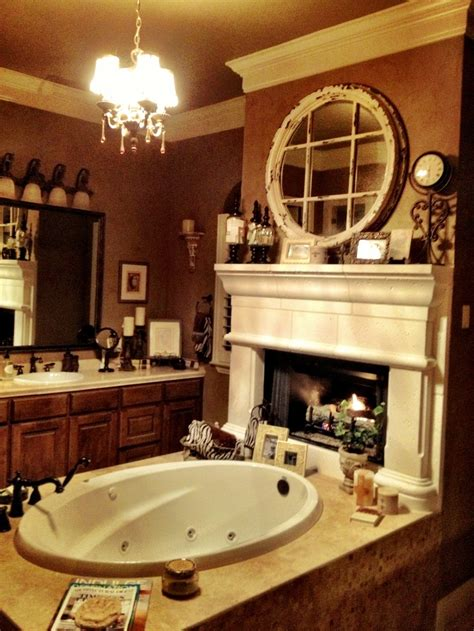 Bathrooms With Fireplaces - 134 best images about bathroom fireplaces on