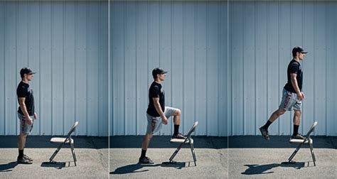 Chair Step Ups by 10 Best Exercises For Bowhunters On A Time Crunch Bowhunter