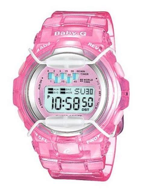 baby g transparent pink bg 1001 4av