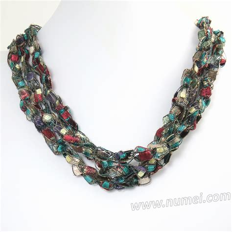 Handmade Ribbon - handmade ribbon necklace mg8168