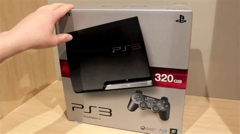 Ps3 Sony Slim 320gb ps3 slim 320gb unboxing hd