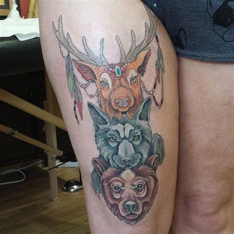 totem tattoo designs animal totem pole tattoos totem