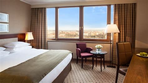 business room luxury hotel rooms prague corinthia