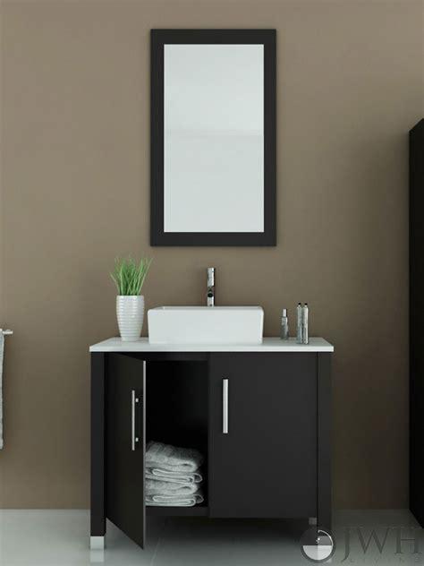 5 vanity top single sink 35 5 quot gemini single bathroom vanity espresso bathgems com