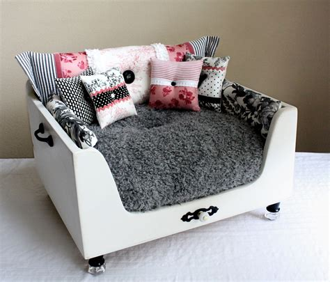 fancy dog beds designer craft girl one of a kind pet beds