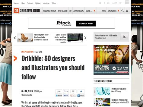 50 designers you should the ultimate guide to everything dribbble webdesigner depot