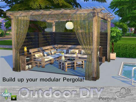 3 in 1 outdoor modular buffsumm s diy modular pergola