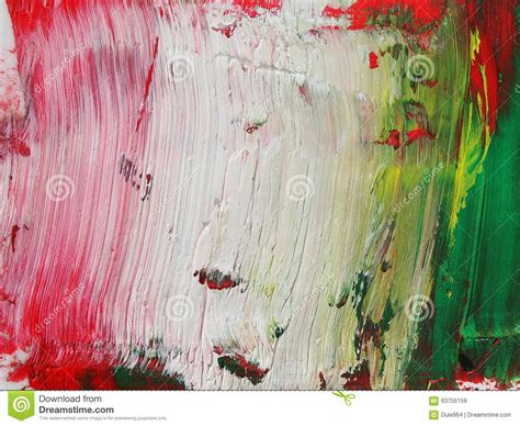imagenes verde blanco y rojo photo abstract red white green grunge brush strokes oil