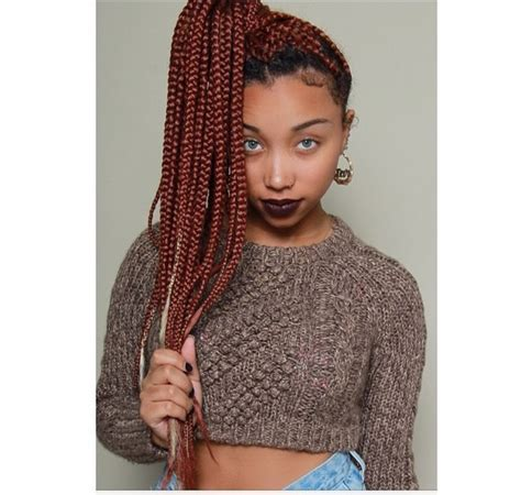how to darken your box braids color 15 cool and funky crochet box braids hairstylesout