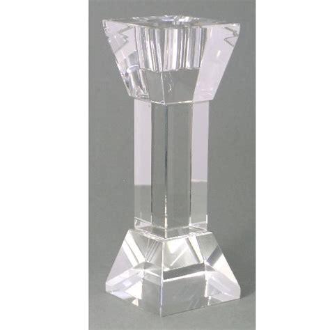 kerzenhalter quadratisch kerzenleuchter quadratisch klar 15cm
