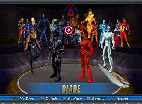 official marvel ultimate alliance 2 character list marvel ultimate alliance characters www pixshark com