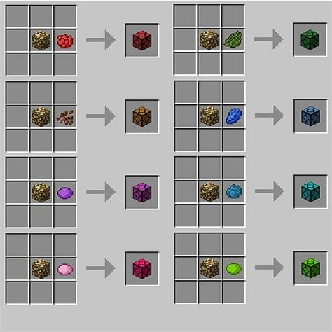 colored glass minecraft sandstone minecraft recipe