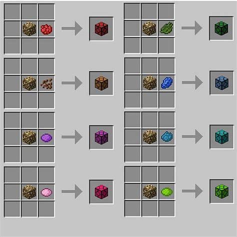 colored glass minecraft sandstone minecraft recipe