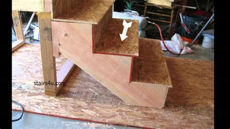 youtube stair layout what is a stair tread how to build stairs youtube