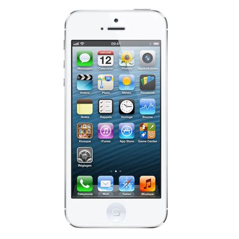 mobile iphone 5 apple iphone 5 16 go blanc i phone 5 16go white achat