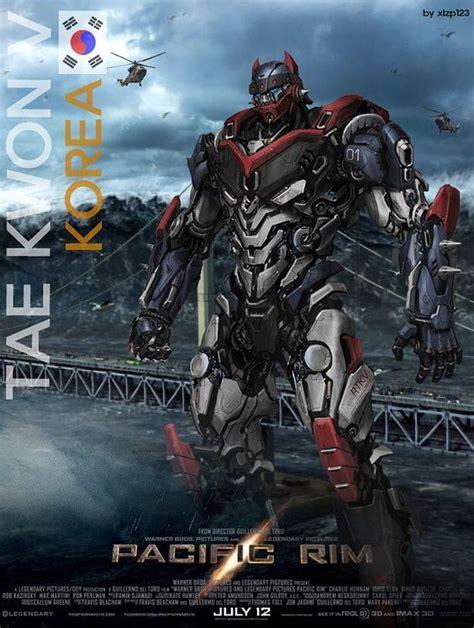 film robot jaeger tae kwon v korea pacific rim jaeger pacific rim korea by