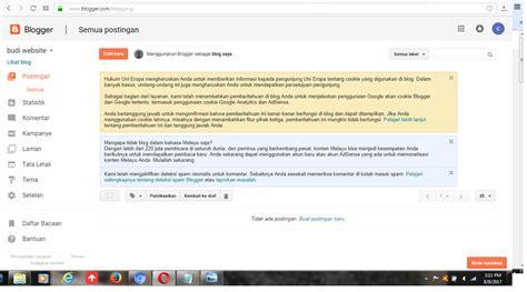 cara membuat blog dan website cara membuat website gratis di blogger tip s dan trik