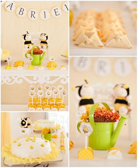 Bee Baby Shower Supplies by Bee Baby Shower Ideas Planning Supplies Idea Cake