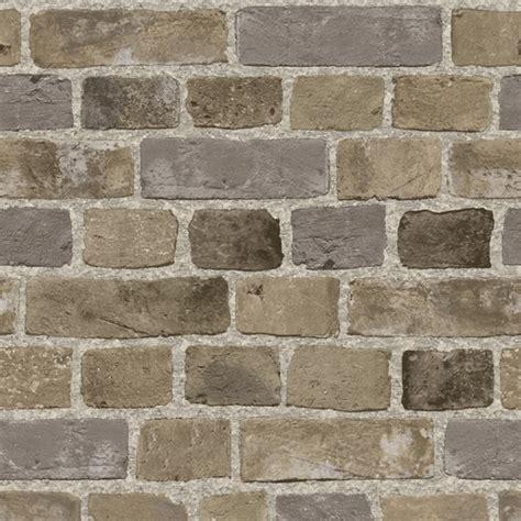 Brick Textured Wallpaper