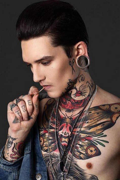 pretty tattoos for men boy with tattoos ink addicts around