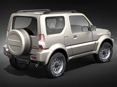 jeep jimny suzuki jimny jeep suv offroad car vehicles 3d models