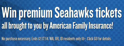 American Dream Sweepstakes - american family insurance the dream show seattle sweepstakes win seahawks tickets