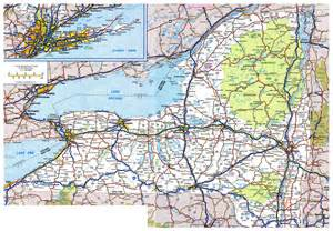 Map Of New York Highways by Large Detailed Roads And Highways Map Of New York State