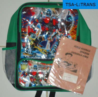 Tas Ransel Anak Laki Laki Transformers Backpack Sekolah Kartun tas sekolah anak laki robot transformers egrosirtas