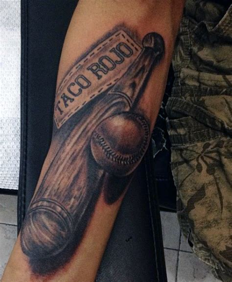 baseball bat tattoo designs 40 baseball tattoos for a grand slam of manly ideas