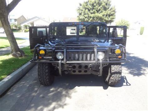 hummer h1 gas buy used 1995 95 am general hummer h1 gas hmcs wagon hmmwv