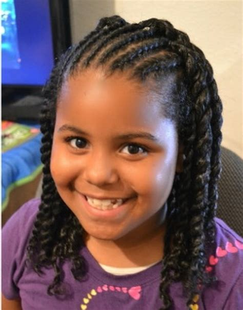 hairstyles black girl cute braided hairstyles for little black girls