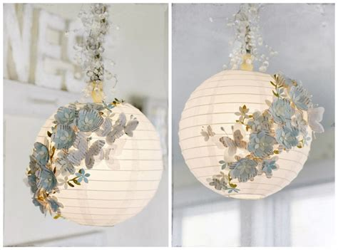 diy paper home decor how to turn plain paper lanterns into swanky home decor