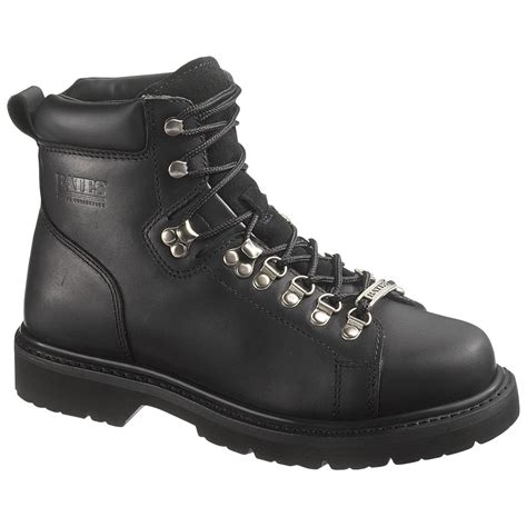 s bates black boots 229402 motorcycle