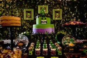 kara s party ideas incredible hulk themed birthday party