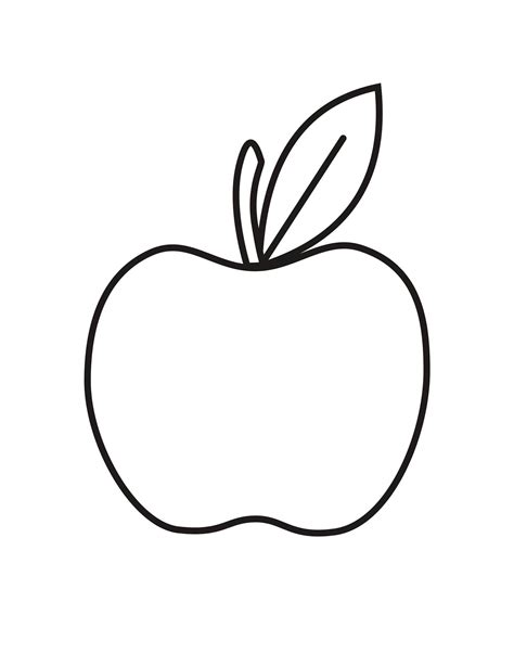 apple colors apple coloring pages for preschoolers 360coloringpages