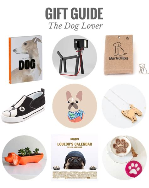 gift guide the dog lover