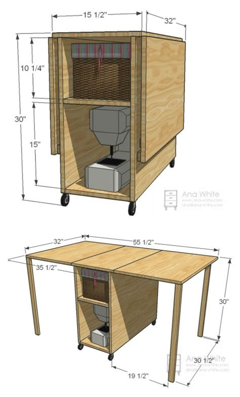 Diy Sewing Desk Diy Foldable Craft Table A Well Editor And Artesanato