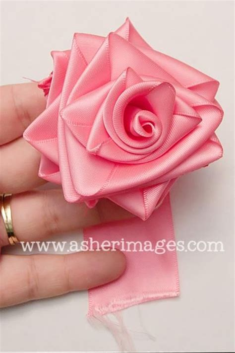 paper ribbon flower tutorial 249 best images about kanzashi tutorial on pinterest