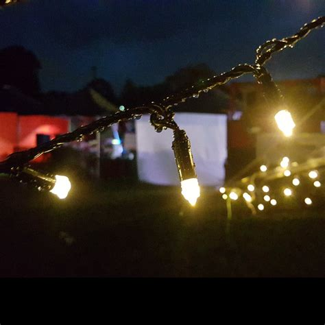 200 warm white led lights solar fairy lights twilight warm white 200 leds with