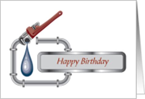 Happy Pipes Plumbing by Birthday Cards For Plumber From Greeting Card Universe