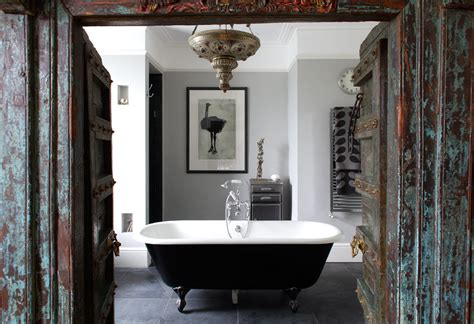 black painted bathroom to da loos vintage black painted ball and claw foot bathtubs