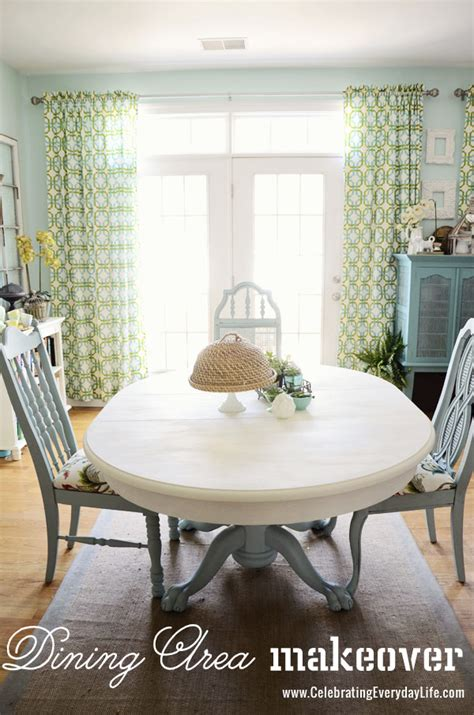 dining room table and chairs makeover with sloan
