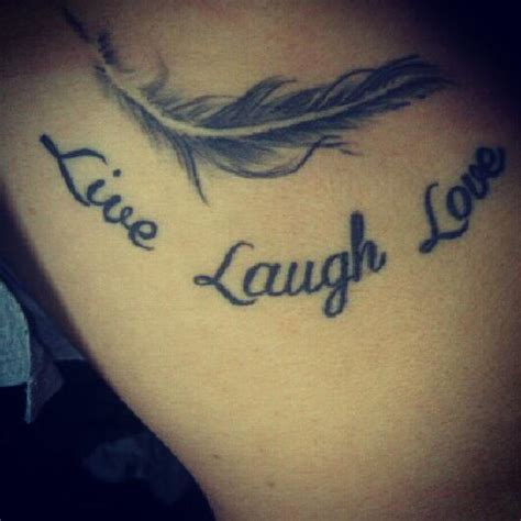 neck tattoo live cute live laugh love tattoo on arm real photo pictures