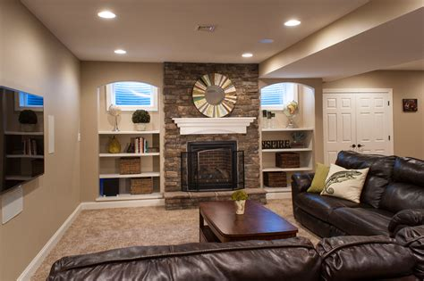 basement remodeling photo gallery by foxbuilt inc