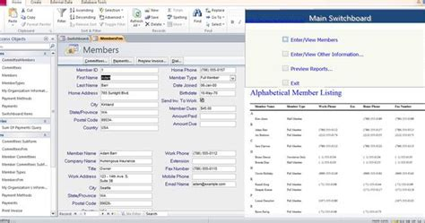 microsoft access templates tracking microsoft access templates database and