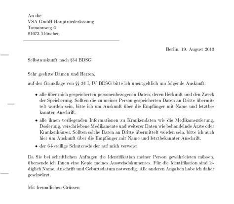 Brief Antrag Auf Schulbefreiung Verkaufte Patientendaten Antrag Auf Selbstauskunft Stellen Flaschenpost