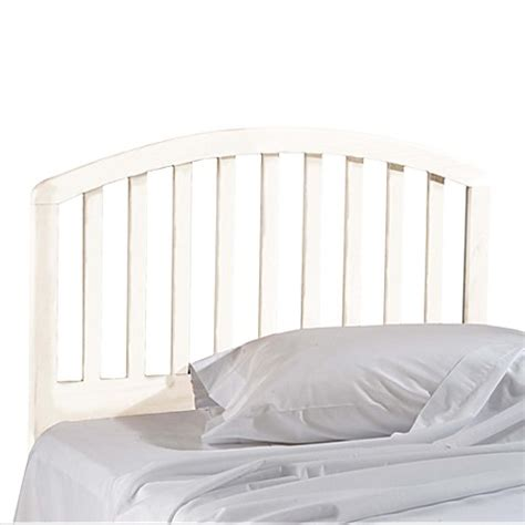 bed bath and beyond headboards buy hillsdale carolina twin white headboard with rails