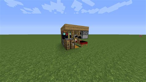 smallest minecraft house small house challenge so you think your efficient discussion minecraft java