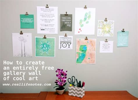 how to design printable wall art create a gallery wall of free printable artwork