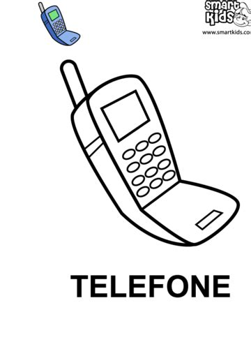 Telefone | Esboços de design de interiores, Meios de